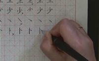 第二单元《硬笔楷书基本笔画的写法》第三节 点(右点 左点 长点 相对点 向背点)与提(斜提 平提)