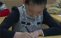 第九单元《硬笔楷书结字规律》第一节 横分平仰俯、长短也不同,一字有多横、间距须均匀。