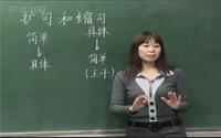 小升初语文冲刺复习课程第7课《扩句和缩句》